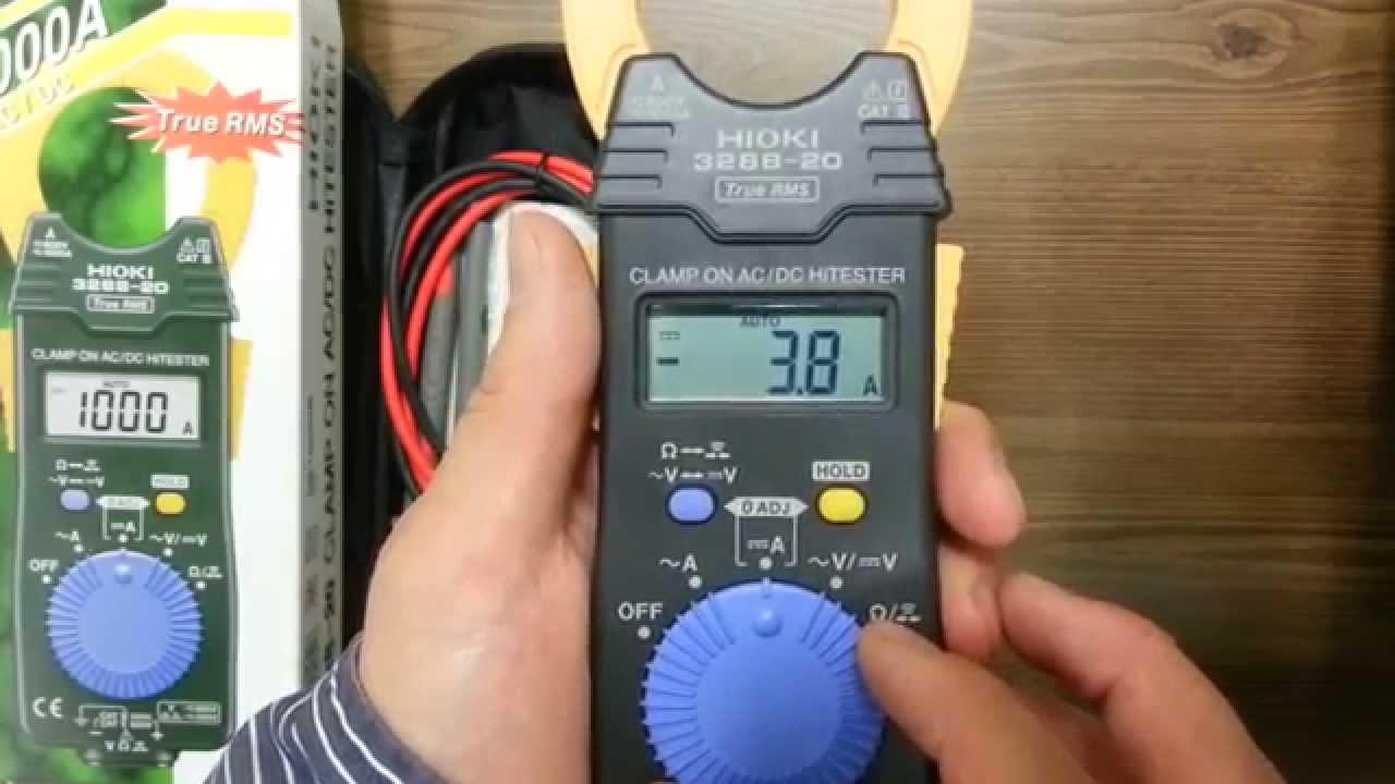 Ampe kìm đo AC/DC Hioki 3288-20