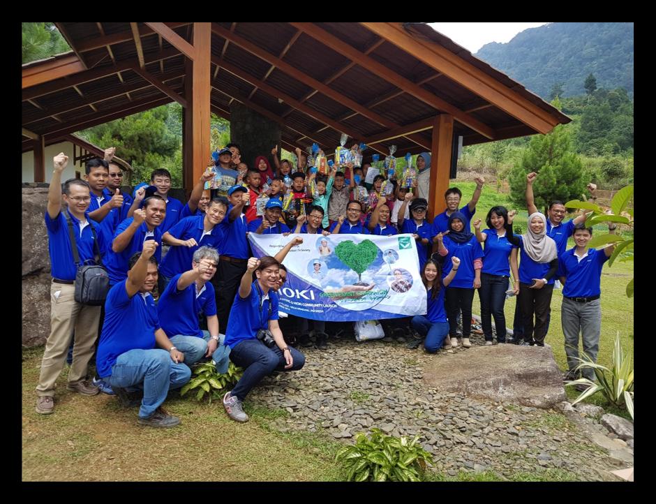 Chiến Dịch Điểm Xanh HIOKI & Khai Trương Cộng Đồng HIOKI Indonesia