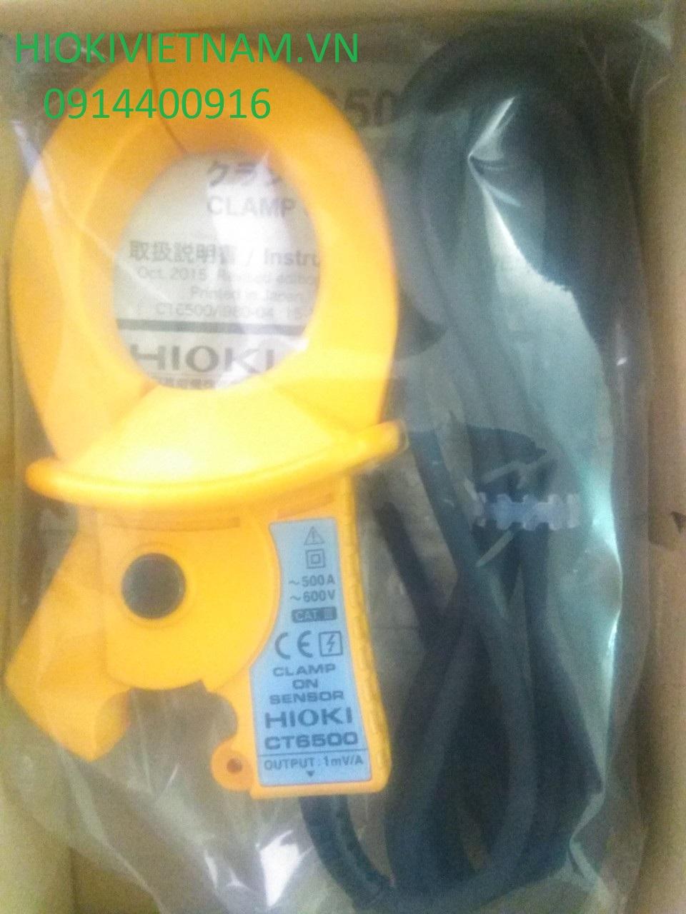 Đầu đo dòng điện dạng kìm Hioki CT6500