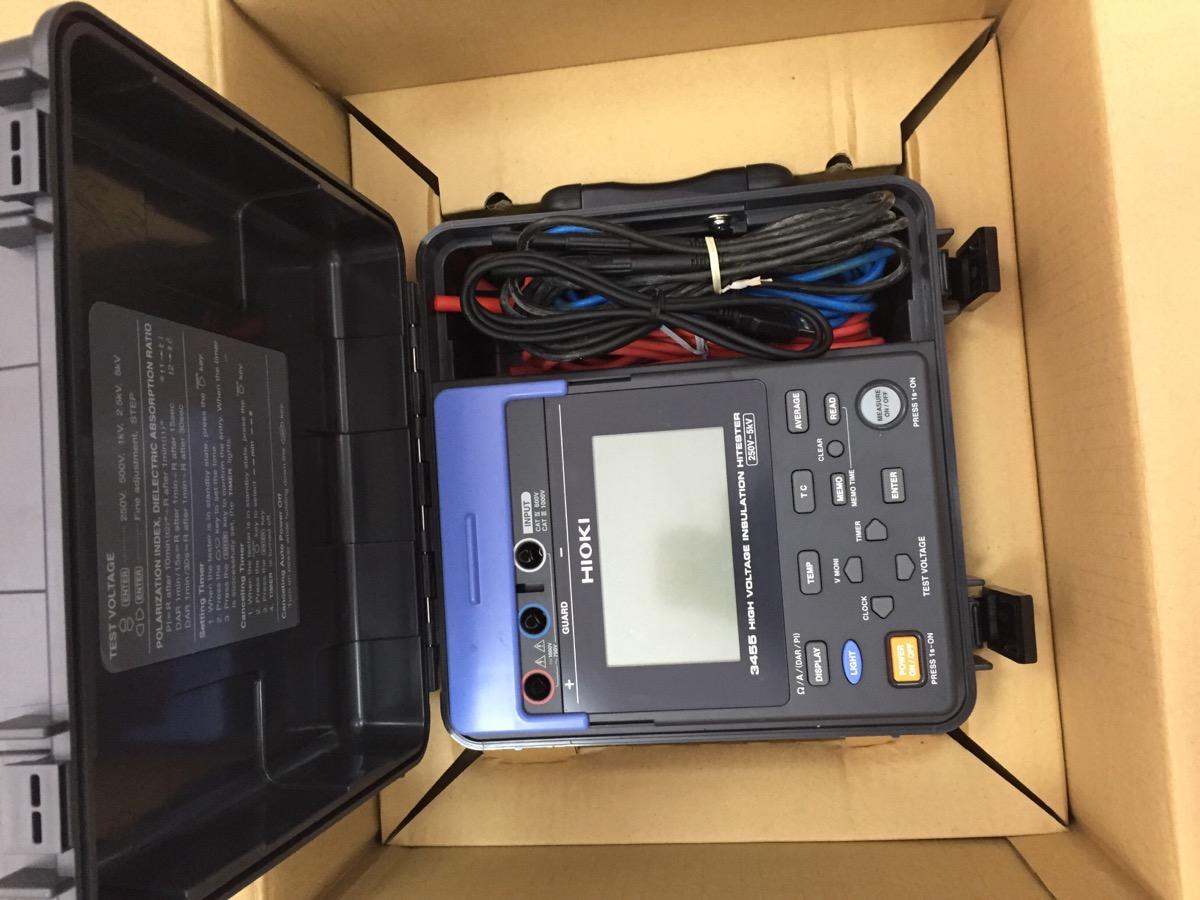 Đồng hồ đo điện trở cách điện Hioki 3455