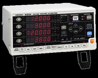 HIOKI 3334-01 AC/DC POWER HiTESTER
