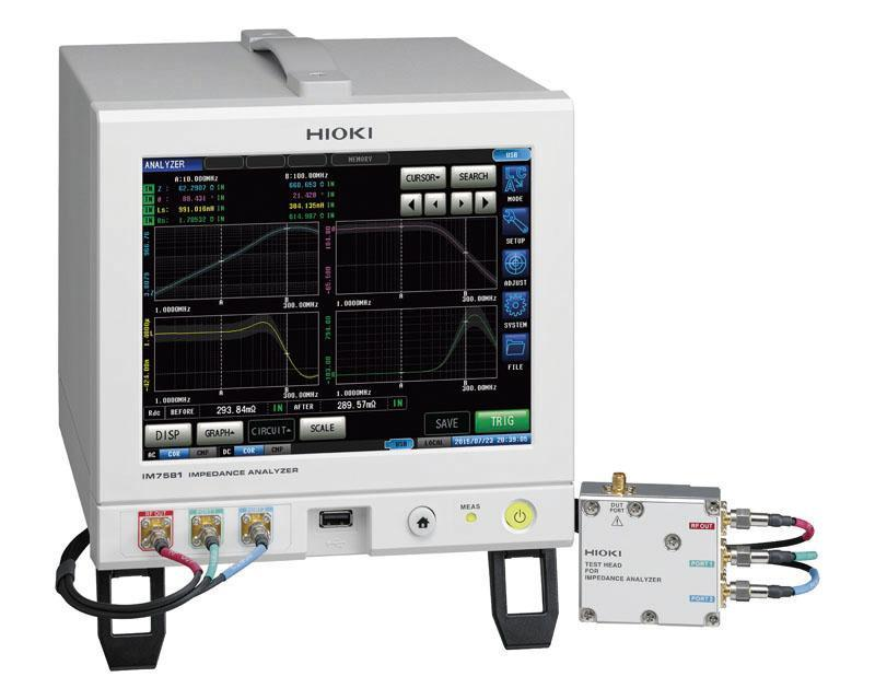 Hioki Ra Mắt Impedance Analyzer IM7581