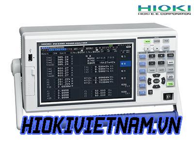 Hioki Ra Mắt Bộ Phân Tích Điện PW3390