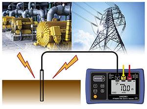 Đồng hồ đo điện trở tiếp đất hioki FT6031-50