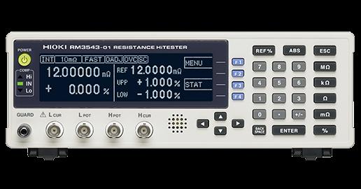 Đồng hồ đo kiểm tra trở kháng hioki RM3543-01