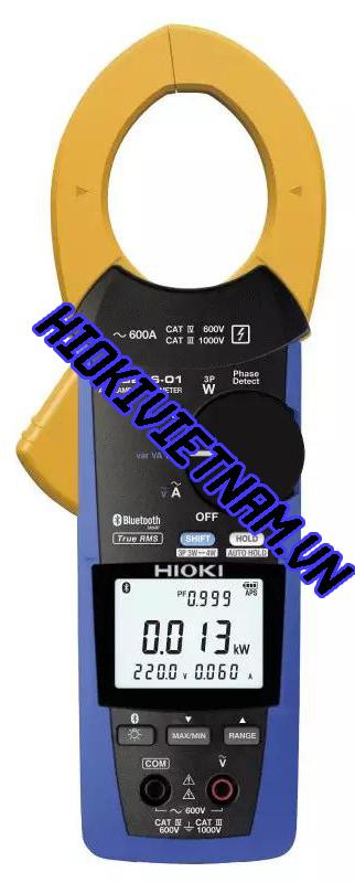 Hioki Ra Mắt Ampe Kẹp AC Đo Công Suất CM3286