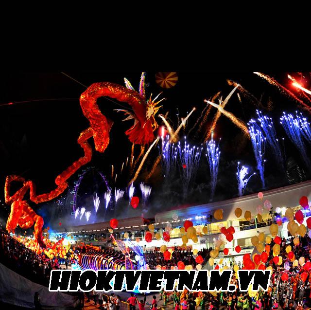 Lễ rước Chingay ở Penang