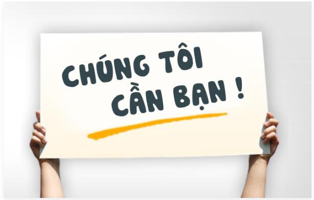 Tuyển dụng NV kinh doanh làm việc tại HỒ CHÍ MINH